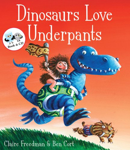 9781847384089: Dinosaurs Love Underpants (Book & CD)