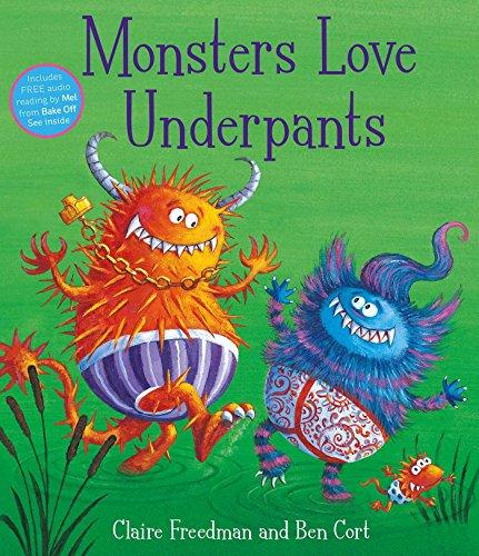 9781847385727: Monsters Love Underpants