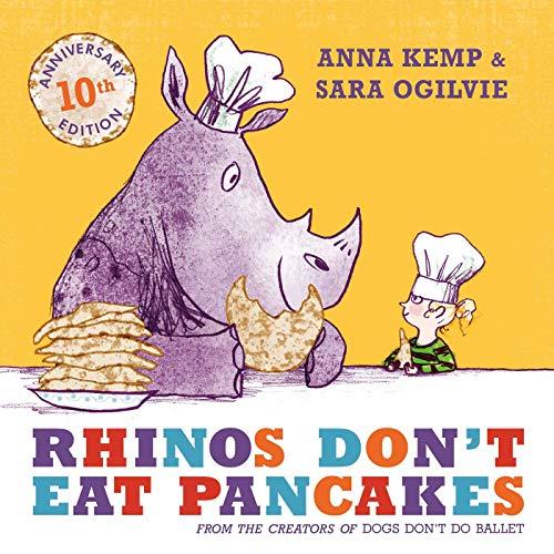 9781847388780: Rhinos Don't Eat Pancakes