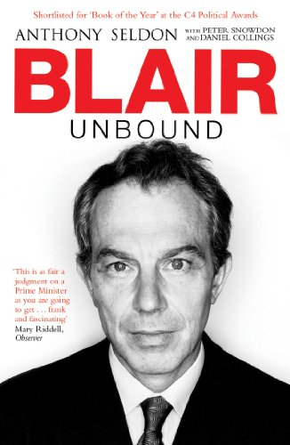 Blair Unbound: Seldon, Anthony