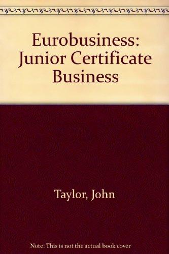 9781847419729: Eurobusiness: Junior Certificate Business