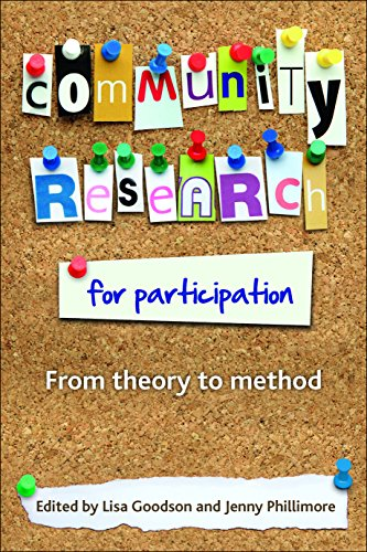 9781847424358: Community Research for Participation: From Theory to Method