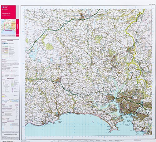 9781847432001: L/R Map 201 Flat Plymouth & Launceston (Landranger Maps)