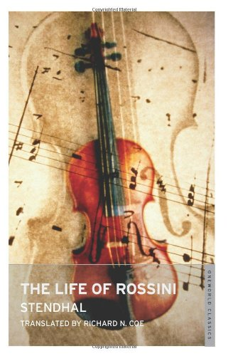 The Life of Rossini: Stendhal