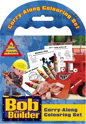 9781847502827: Bob the Builder Carry-along Colouring Set
