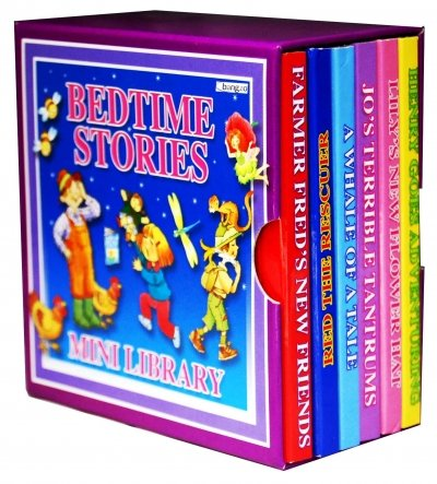 9781847509710: Bedtime Stories Pocket Library 6 Board Books Collection Set