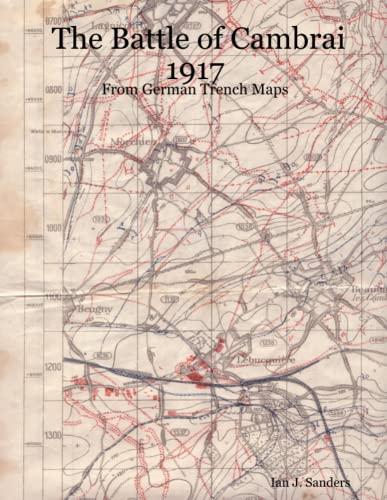 TRENCH MAP OF HONNECOURT