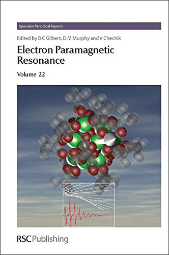 9781847550613: Electron Paramagnetic Resonance: Volume 22 (Specialist Periodical Reports)