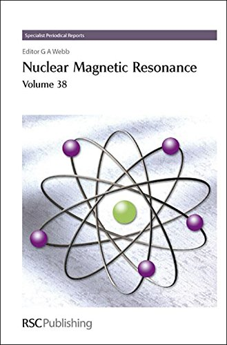 Nuclear Magnetic Resonance: Volume 38 (Specialist Periodical Reports): G.A.M. Webb
