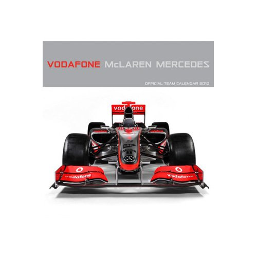 9781847572783: VODAFONE McLAREN MERCEDES OFFICIAL TEAM CALENDAR 2010