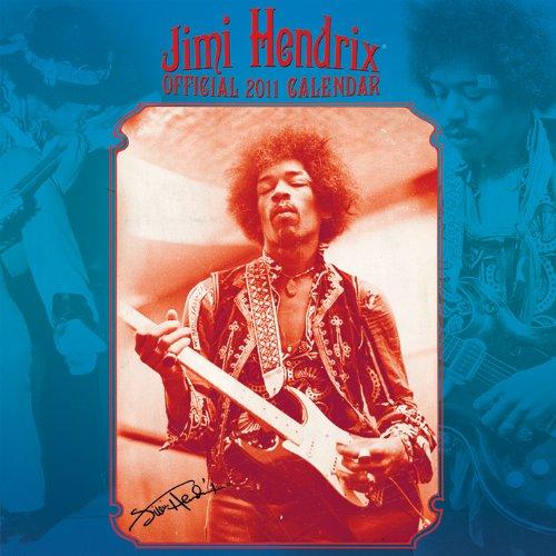 9781847572882: Jimi Hendrix Square Calendar 2011
