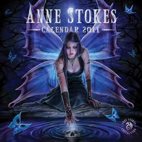 9781847573087: (12x12) Anne Stokes 12-Month Official Wall Calendar 2011