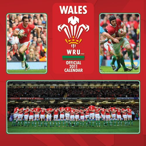 9781847573094: Wales Rugby Union Square Calendar 2011