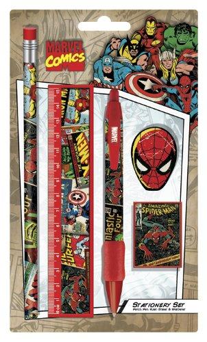 9781847575005: Marvel Stationery Set