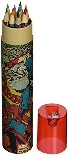 9781847576217: Marvel Retro Collage Colouring Pencil Tu