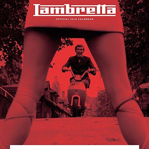 9781847576514: Lambretta 2016 Square Calendar