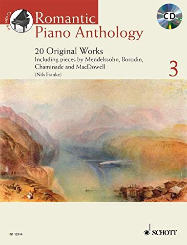 9781847610140: Romantic Piano Anthology: No. 3: 20 Original Works