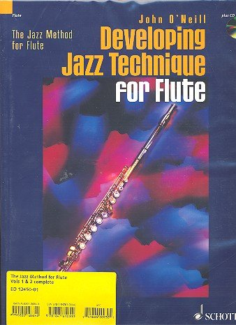 9781847610300: The Jazz Method for Flute: v. 1-2: Developing Jazz Method for Flute