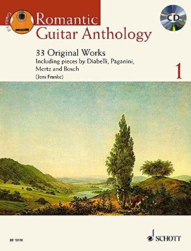 9781847610560: Romantic Guitar Anthology Vol. 1 BK/Performance CD (Schott Anthology Series)