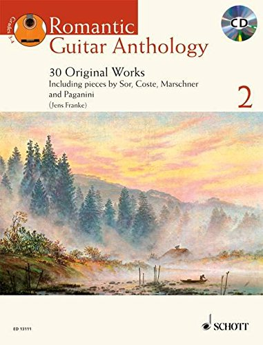 9781847610577: Romantic Guitar Anthology: 30 Original Works & Transcriptions Selected and Edited by Jens Franke
