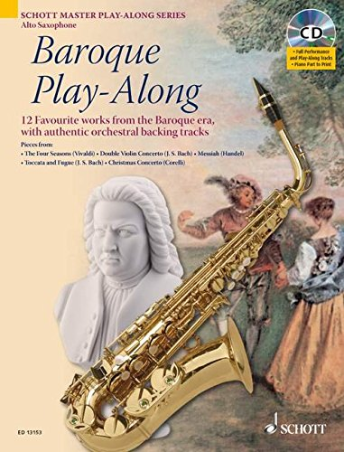 9781847610997: Baroque Play-Along: 12 Favorite Works from the Baroque Era (Schott Master Play-Along)