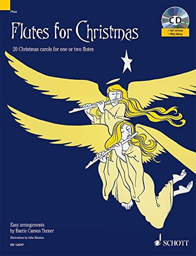 9781847611178: Flutes for Christmas: 20 Christmas Carols for One or Two Flutes