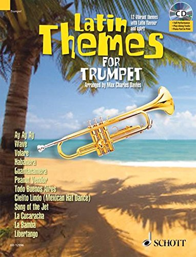 9781847611277: LATIN THEMES FOR TRUMPET: SCHOTT MASTER PLAY-ALONG SERIES BOOK/CD