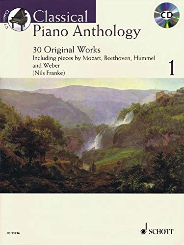 9781847611444: Classical Piano Anthology: 30 Original Works 1. Klavier