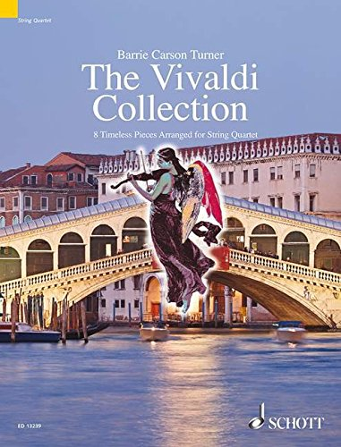 9781847611512: The Vivaldi Collection: 8 Timeless Pieces Arranged for String Quartet (The Schott String Quartet Seri)