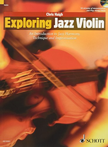 9781847612427: Exploring Jazz Violin: An Introduction to Jazz Harmony, Technique and Improvisation (The Schott Pop Styles Series)
