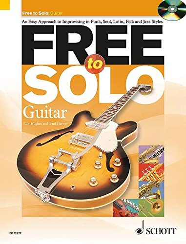 9781847612489: Free to Solo for Guitar Book/Cd