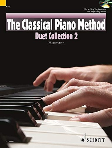 9781847612786: The Classical Piano Method: Duet Collection - 2 Book/CD