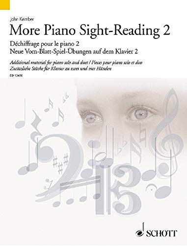9781847612847: More Piano Sight-Reading 2 - Additional material for piano solo and duet - Schott Sight-Reading Series - Piano - ( ED 13490 )