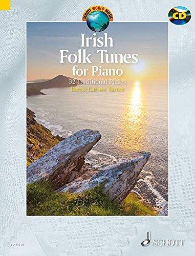 Irish Folk Tunes for Piano: 32 Traditional: Barrie Carson Turner
