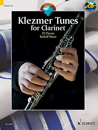 9781847613493: Klezmer Tunes For Clarinet 24 Pieces Clarinet And Piano +CD