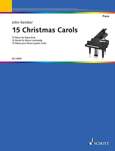 9781847613868: 15 Christmas Carols for Piano 4 Hands