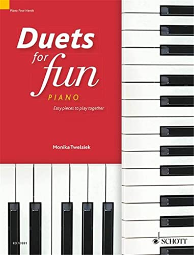 Duets for Fun: Piano: Easy Pieces to Play Together (A Treasure Chest of Duos) (Paperback)