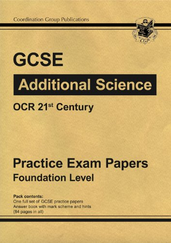 ocr 21st century science coursework mark schemes Gcse physics: coursework one of the best things about science coursework is that the mark schemes are the same the criteria on which you're judged are identical.