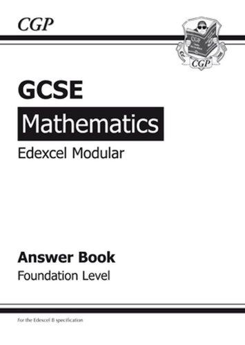 9781847620927: GCSE Maths Edexcel B (Modular) Answers (for Workbook) Foundation