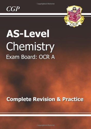 9781847621269: AS-Level Chemistry OCR A Complete Revision & Practice