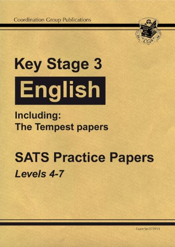 9781847621535: KS3 English Practice Papers Including The Tempest