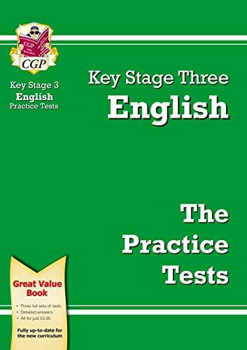 KS3 English Practice Tests: CGP Books