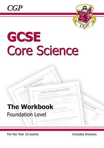 GCSE Core Science Workbook (Including Answers) - Foundation: CGP Books