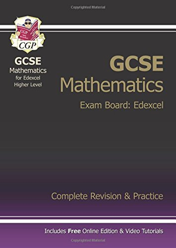 9781847622082: GCSE Maths Edexcel Complete Revision & Practice (with Online (Online Edition)
