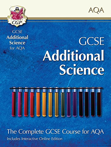 GCSE Additional Science for AQA: Student Book with Interactive Online Edition: CGP Books