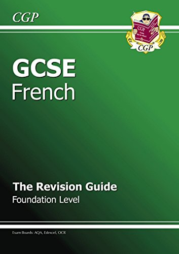 9781847622846: GCSE French Revision Guide - Foundation (A*-G course)