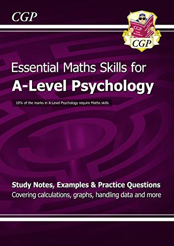 9781847623249: A-Level Psychology: Essential Maths Skills (CGP A-Level Psychology)