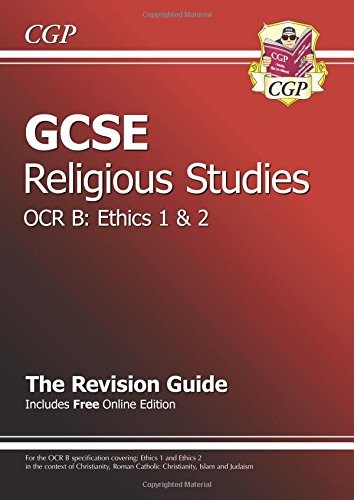 9781847623492: GCSE Religious Studies OCR B Ethics Revision Guide (with Online Edition) (A*-G Course)