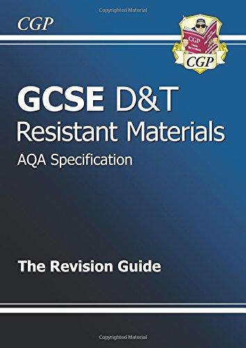 9781847623539: GCSE Design & Technology Resistant Materials AQA Revision Guide (A*-G Course)