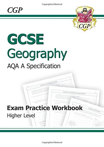 9781847623799: GCSE Geography AQA A Exam Practice Workbook - Higher